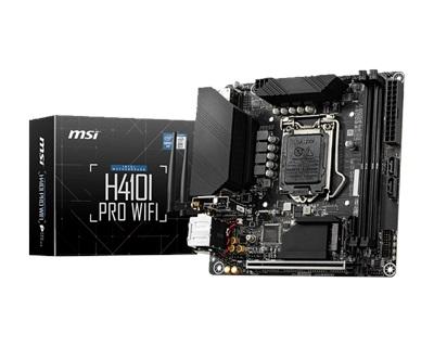 MSI H410I Pro WiFi 2933mhz(OC) M.2 1200p Mini-ITX Anakart