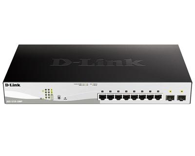 En ucuz D-Link DGS-1210-10MP/F1A 8 Port Gigabit Yönetilebilir Switch Fiyatı