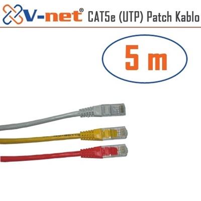 En ucuz V-Net NVN-CAT5e 5m Patch Kablosu   Fiyatı