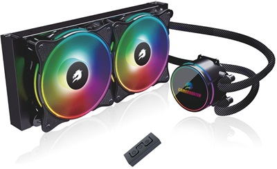 GameBooster NITRO ARGB 240 mm Intel-AMD Uyumlu Sıvı Soğutucu