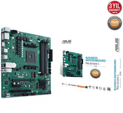 Asus Pro B550M-C/CSM 4600mhz(OC) M.2 AM4 mATX Anakart