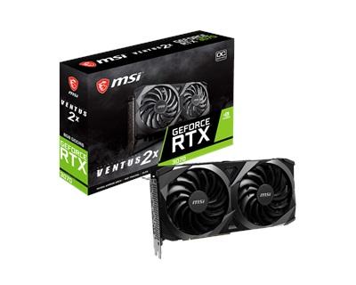 MSI GeForce RTX 3070 VENTUS 2X OC 8GB GDDR6 256 Bit Ekran Kartı