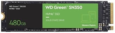 WD 480GB Green SN350 NVMe Okuma 2400MB-Yazma 1650MB M.2 SSD (WDS480G2G0C)
