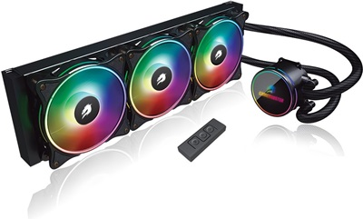 GameBooster NITRO ARGB 360 mm Intel-AMD Uyumlu Sıvı Soğutucu