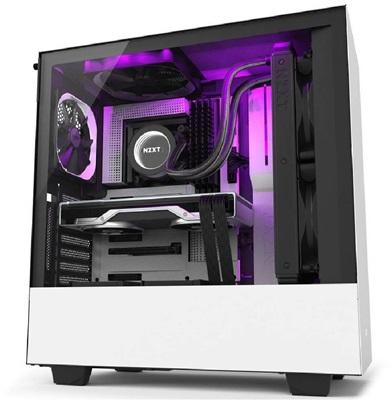 NZXT H510i Tempered Glass RGB Siyah/Beyaz USB 3.1 ATX Mid Tower Kasa