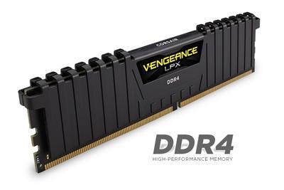 Corsair 8GB Vengeance Lpx Siyah 2400mhz CL14 DDR4  Ram (CMK8GX4M1A2400C14)