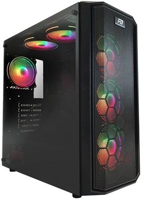 PowerBoost X58 650W 80+ Tempered Glass RGB USB 3.0 ATX Mid Tower Kasa