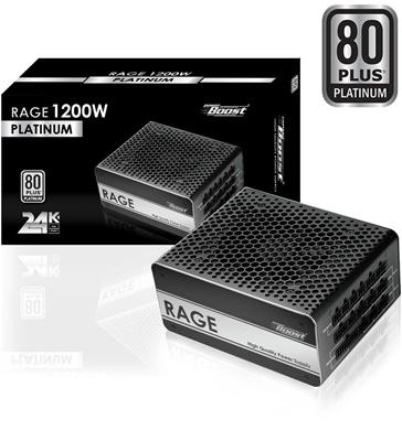 PowerBoost 1200W Rage Serisi 80+ Platinum Tam Modüler Güç Kaynağı