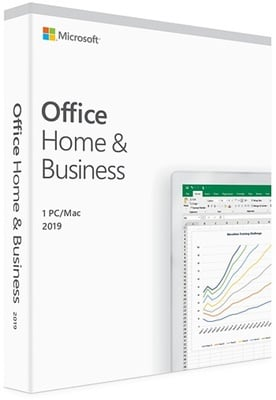 Microsoft Office 2019 Home and Business İngilizce Kutu Ofis Yazılımı