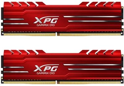 XPG 16GB(2x8) Gammix D10 Kırmızı 3200Mhz CL16 DDR4  Ram (AX4U320038G16-DR10)