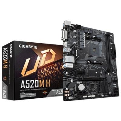 En ucuz Gigabyte A520M H 5000mhz(OC) RGB M.2 AM4 mATX Anakart Fiyatı