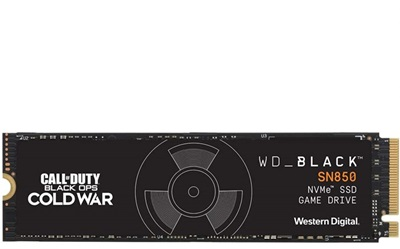 WD 1TB Call of Duty Black Ops Cold War Special Edition SN850 NVMe Okuma 7000MB-Yazma 5300MB M.2 SSD (WDBB2F0010BNC)