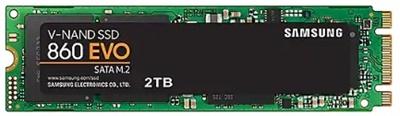 En ucuz Samsung 2TB 860 Evo Okuma 550MB-Yazma 520MB M.2 SSD (MZ-N6E2T0BW) Fiyatı
