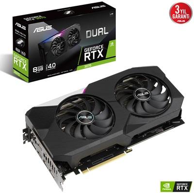 Asus GeForce RTX 3070 Dual V2 8G 8GB GDDR6 256 Bit Ekran Kartı