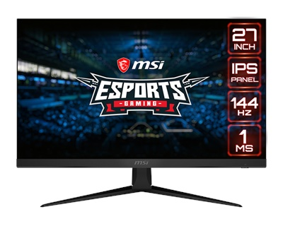 "En ucuz MSI 27"" Optix G271 1ms 144hz HDMI,DisplayPort FreeSync Gaming Monitör Fiyatı"