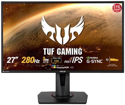 """En ucuz Asus 27"""" TUF VG279QM 1ms 280hz HDMI,DisplayPort G-Sync Gaming Monitör Fiyatı"""