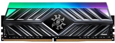 XPG 8GB Spectrix D41 RGB Gri 3000mhz CL16 DDR4  Ram (AX4U300038G16A-ST41)