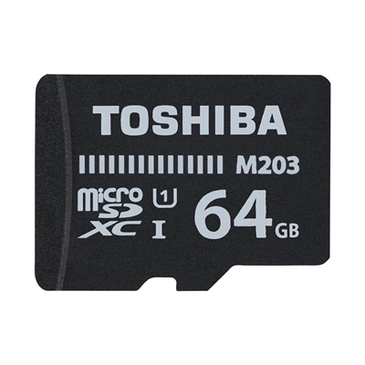 Toshiba 64GB MicroSDXC M203 U1 100 MB/sn Class 10 Hafıza Kartı (THN-M203K0640EA)