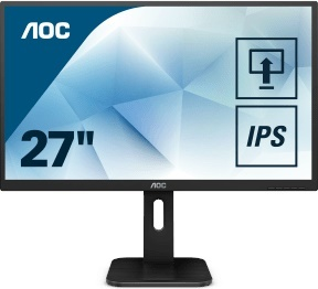 """En ucuz Aoc 27"""" 27P1 5ms 60hz HDMI,VGA,DVI,DPPort IPS Monitör Fiyatı"""