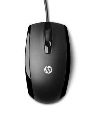HP X500 Siyah  USB Mouse