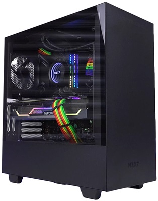 NZXT H510i Tempered Glass RGB Siyah USB 3.1 ATX Mid Tower Kasa