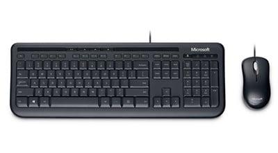 En ucuz Microsoft 600 Türkçe Q  USB Klavye + Mouse Set Fiyatı