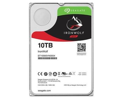 Seagate 10TB Ironwolf 256MB 7200rpm (ST10000VN0004) NAS Diski