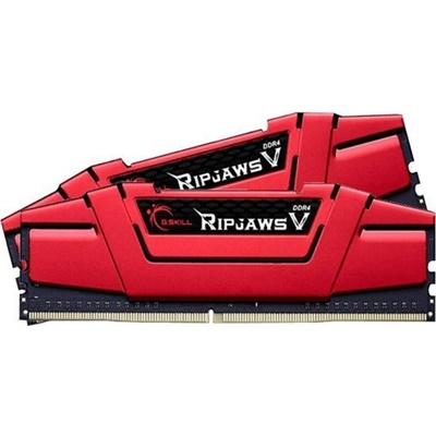 G.Skill 16GB(2x8) RipjawsV Kırmızı 3000mhz CL15 DDR4  Ram (F4-3000C15D-16GVRB)