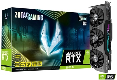 Zotac GeForce RTX 3080 Ti Trinity OC 12GB GDDR6X 384 Bit Ekran Kartı