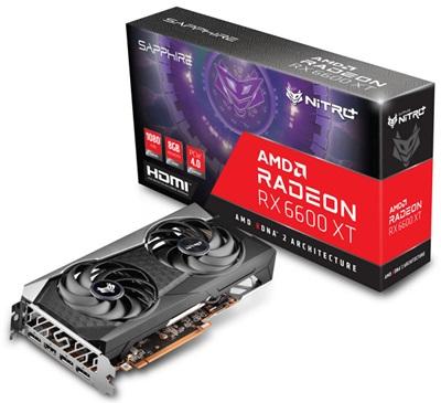 Sapphire Radeon RX 6600 XT Nitro+ 8GB GDDR6 128 Bit Ekran Kartı