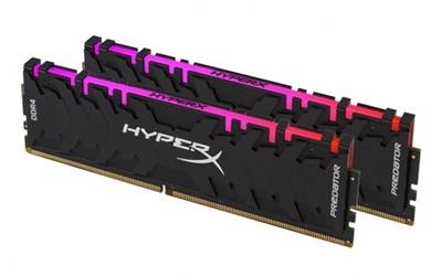En ucuz Kingston 16GB(2x8) HyperX Predator RGB Siyah 3200mhz CL16 DDR4  Ram (HX432C16PB3AK2/16) Fiyatı
