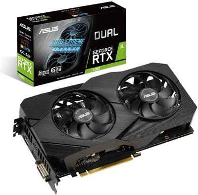 En ucuz Asus GeForce RTX2060 A6G-Evo 6GB GDDR6 192 Bit Ekran Kartı Fiyatı