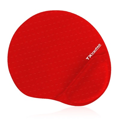 En ucuz TX ErgoPad Plus Bilek Jel Destekli Kırmızı Mousepad   Fiyatı