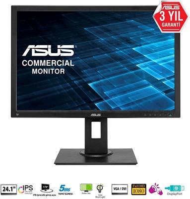 """En ucuz Asus 24,1"""" BE24AQLB 5ms 60hz D-Sub,DPPort,DVI-D IPS Monitör Fiyatı"""