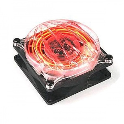 Thermaltake Cyclo Kırmızı Ledli 8cm Kasa Fanı