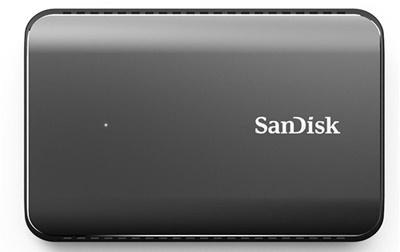 Sandisk 480GB Extreme 900 Okuma 850MB-Yazma 850MB USB 3.1 Taşınabilir SSD (SDSSDEX2-480G-G25)