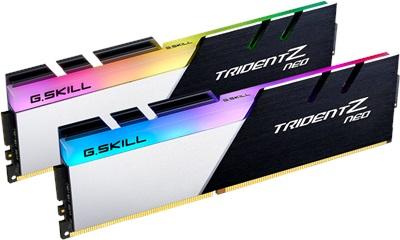En ucuz G.Skill 64GB(2x32) Trident Z Neo RGB 3200mhz CL16 DDR4  Ram (F4-3200C16D-64GTZN) Fiyatı