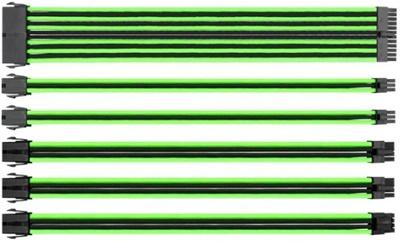 Thermaltake Tt Mod Yeşil/Siyah Power Supply Sleeved Kablo Seti