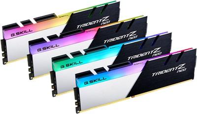 En ucuz G.Skill 128GB(4x32) Trident Z Neo 3200mhz CL16 DDR4  Ram (F4-3200C16Q-128GTZN) Fiyatı