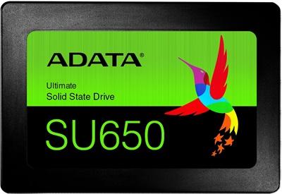 Adata 240GB SU650 Okuma 520MB-Yazma 450MB SATA SSD (ASU650SS-240GT-R)