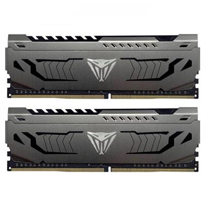 Patriot 16GB(2x8) Viper Steel 4400mhz CL18 DDR4  Ram (PVS416G440C9K)