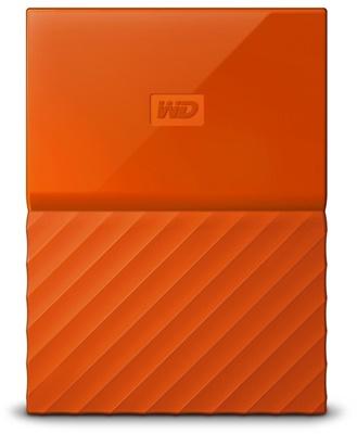 WD 1TB My Passport Turuncu USB 3.0 2,5 (WDBYNN0010BOR-WESN) Taşınabilir Disk