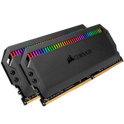 En ucuz Corsair 16GB(2x8) Dominator Platinum RGB 3000mhz CL15 DDR4  Ram (CMT16GX4M2C3000C15) Fiyatı