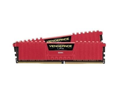 Corsair 16GB(2x8) Vengeance Lpx Kırmızı 2666mhz CL16 DDR4  Ram (CMK16GX4M2A2666C16R)