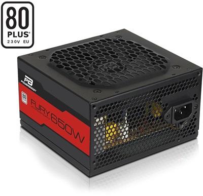 PowerBoost 650W Fury 80+ White  Güç Kaynağı