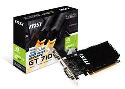 MSI GeForce GT 710 1GD3H LP 1GB DDR3 64 Bit Ekran Kartı