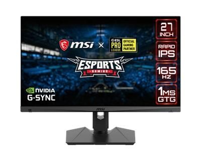 "MSI 27"" Optix MAG274QRF 1ms 165hz HDMI,DisplayPort,Type-C G-Sync 2K Gaming Monitör"