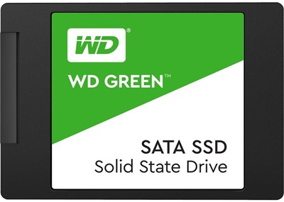 En ucuz WD 480GB Green Okuma 545MB SATA SSD (WDS480G2G0A) Fiyatı
