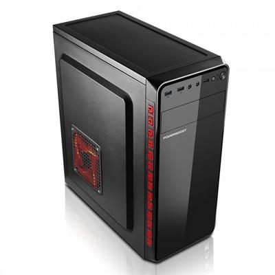 En ucuz PowerBoost VK-1625 350W USB 3.0 ATX Mid Tower Kasa  Fiyatı