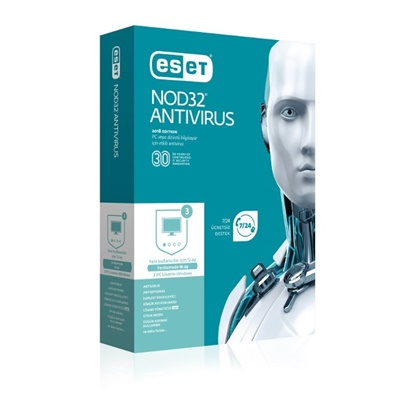 Eset NOD32 3 Kullanıcı 1 Yıl Lisanslı Antivirüs